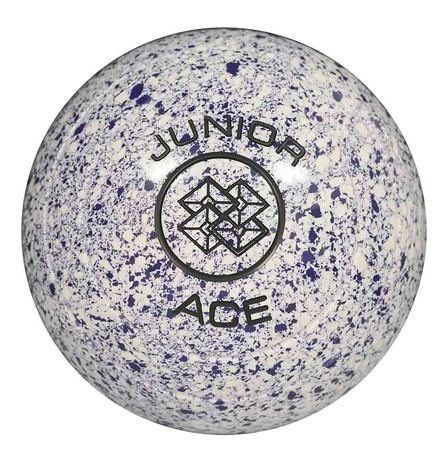 Junior Ace - White/Purple