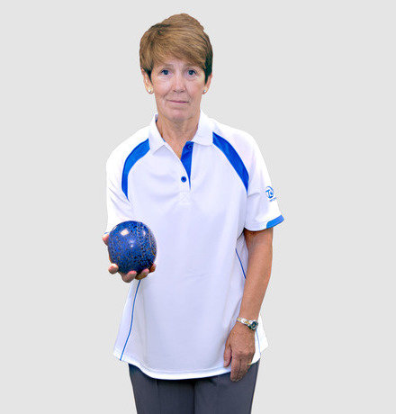 Ladies Ace XVI Shirt - Blue Trim