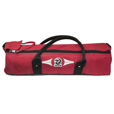 4 Bowls Cylinder Bag - Red