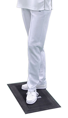 Ladies White Sports Trousers