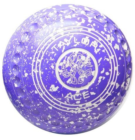 ACE PURPLE/WHITE SIZE 4 (H40)