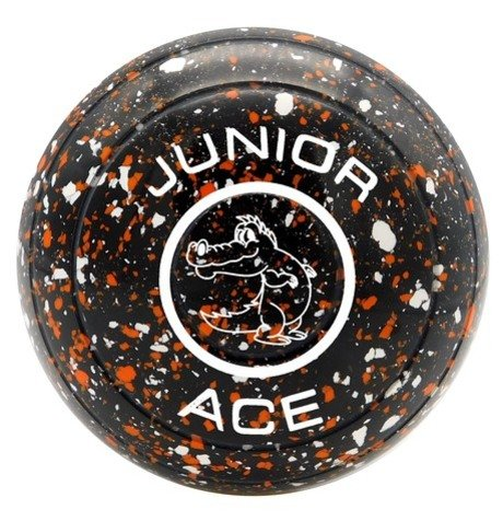 Junior Ace - Black/White/Orange (Fireworks)