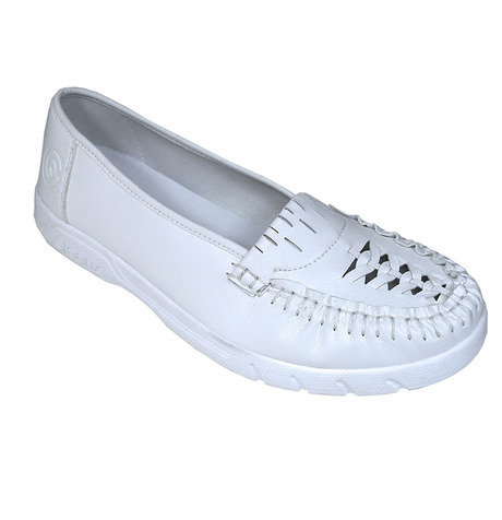 Ladie's Vicki II White Greenz Shoes