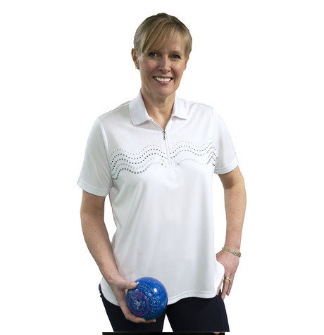 "Ladies ""WAVE"" Polo Shirt"