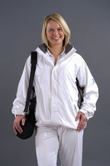 Flexi Dri Waterproof Jacket - White/Grey (Unisex)