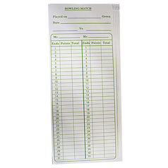 Scorecards (100 Pack)